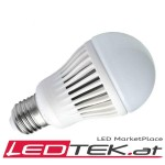 12W E27-LED-lampe Warmweiss